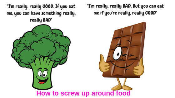 How to damage a relationship with food